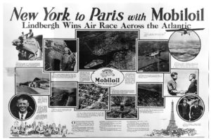 New York to Paris with Mobiloil, 1927. ExxonMobil Historical Collection. di_01106