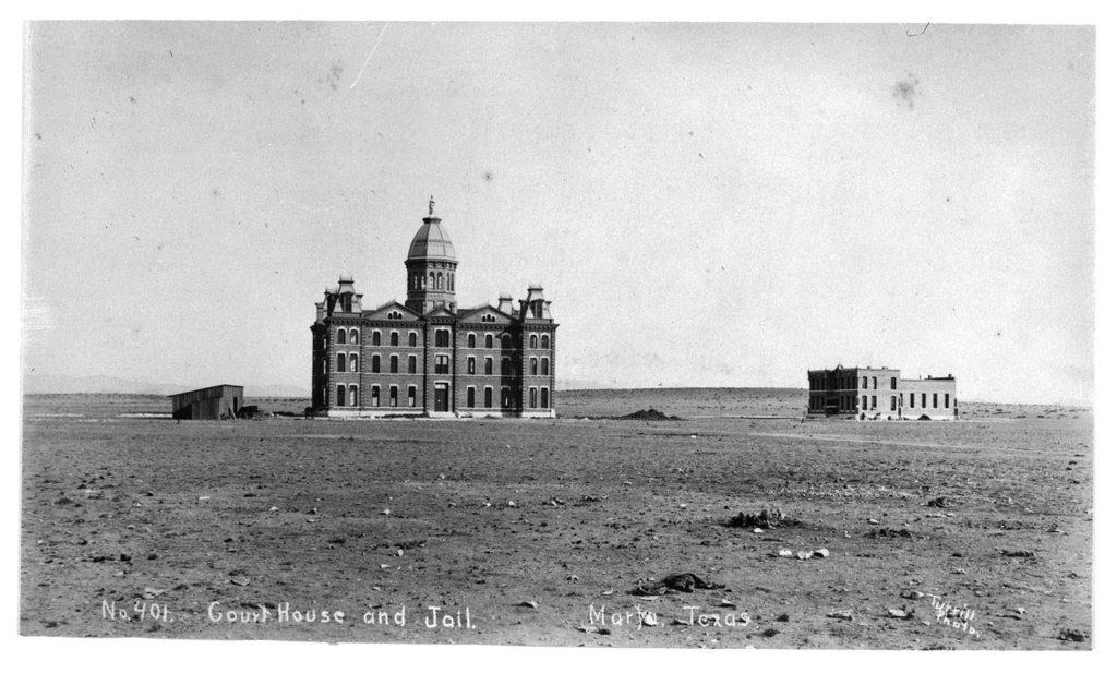 Courthouse and jail, Marfa, Texas, ca. 1887–1892. di_01690