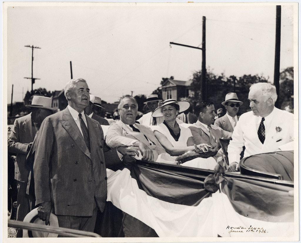 Jesse H. Jones with Franklin D. Roosevelt, ca. 1930s. di_01752