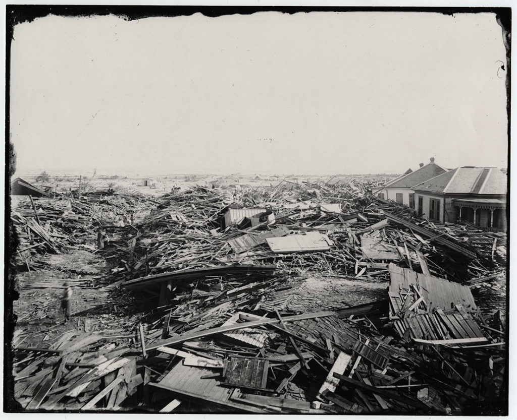 Aftermath of the Great Hurricane of 1900, Galveston, Texas, 1900. di_02380
