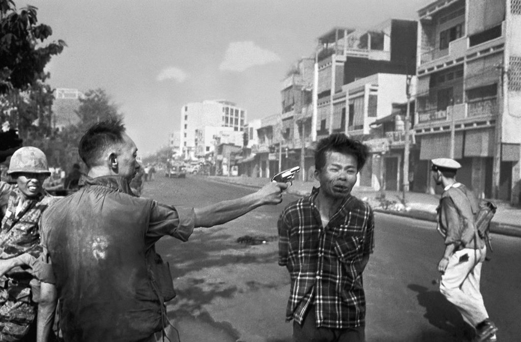"""Saigon Execution,"" February 1, 1968. Photo by Eddie Adams. di_05291"
