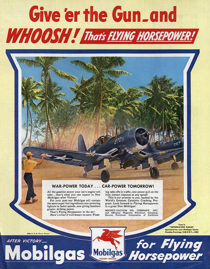 Mobilgas advertisement, 1945. di_06264