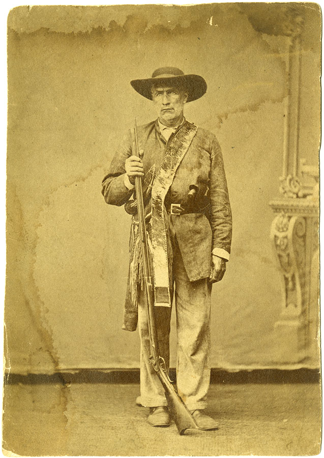 "William ""Bigfoot"" Wallace, 1859. di_08335"