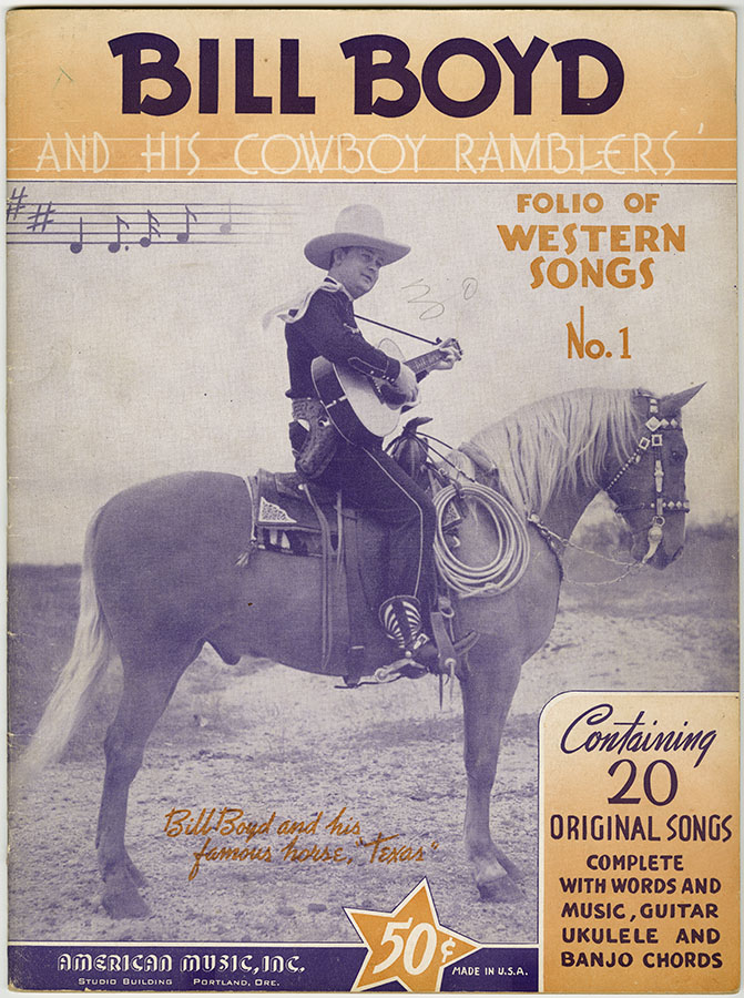 Bill Boyd and His Cowboy Ramblers, Folio of Western Songs, ca. 1939. di_08877
