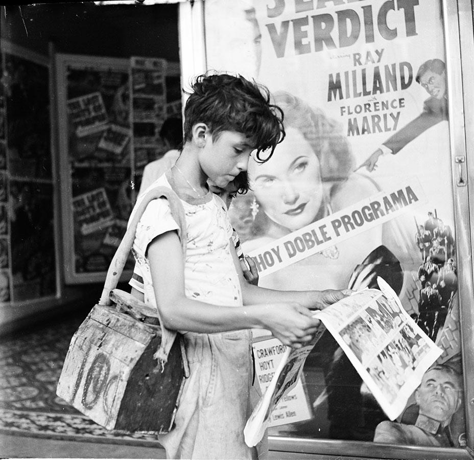 Shoeshine boy, San Antonio, Texas, 1949. Photo by Russell. Lee. e_rl_14646_0081