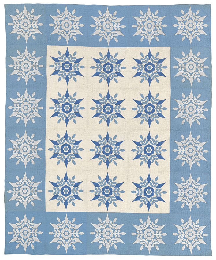Snowflake, ca. 1937–40. Winedale Quilt Collection, Joyce Gross Quilt History Collection. e_wqh_0489
