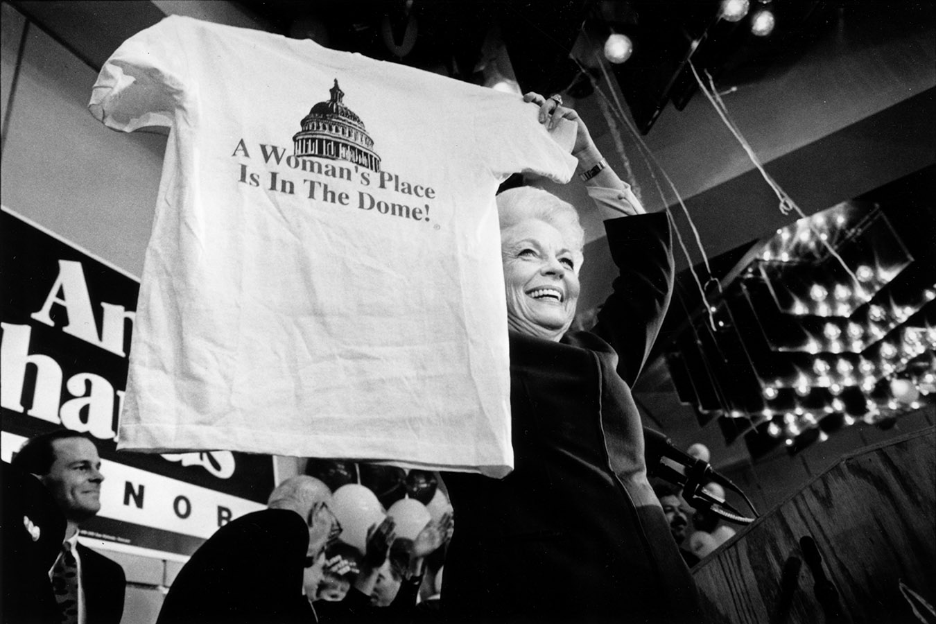 Ann Richards, June 11, 1990. Ann W. Richards Papers. di_07753