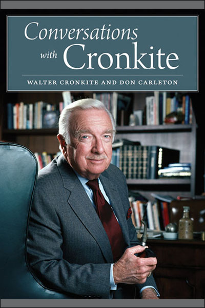 Cover image for Conversations with Cronkite