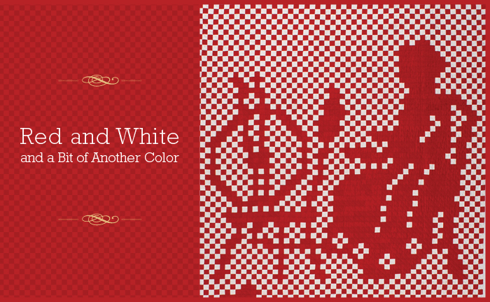 Red and White and a Bit of Another Color
