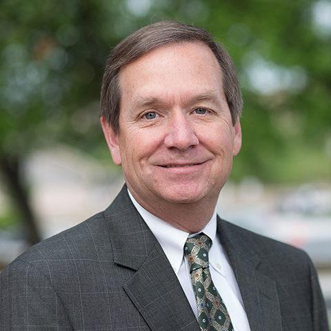 Headshot of Briscoe Center Advisory Council member Larry Harlan