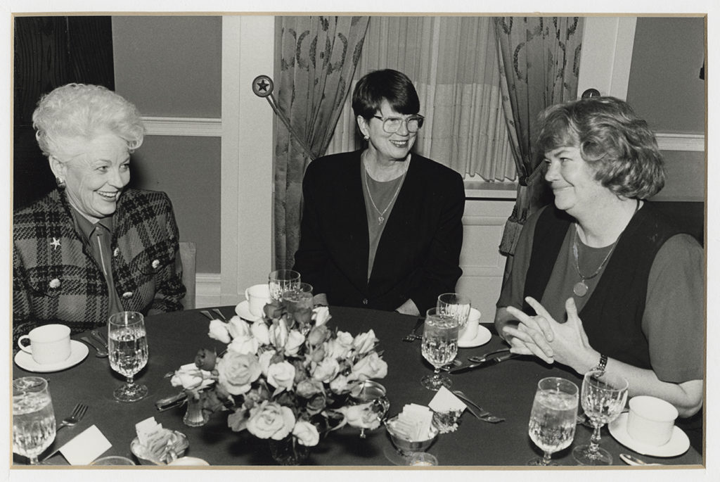 Ann Richards, Janet Reno, and Molly Ivins, 1994. di_11300