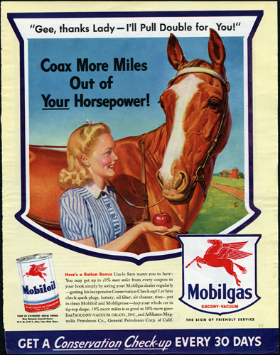 Coax More Miles Out of Your Horsepower!, 1943.