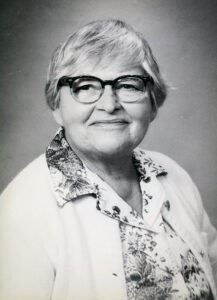 Dorothy L. Bernstein, first woman President of the Mathematical Association of America, circa 1979-1980, Mathematical Association of America Records e_math_01004