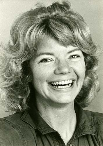 Molly Ivins, circa 1984. Molly Ivins Papers. e_rap_0924