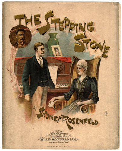 The Stepping Stone by Sydney Rosenfeld. Natchez Trace Collection, Sheet Music Collection. di_01722