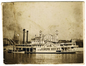 U.S. Joseph Henry, circa 1900. Natchez Trace Collection, Photographs Collection. ntc_0047