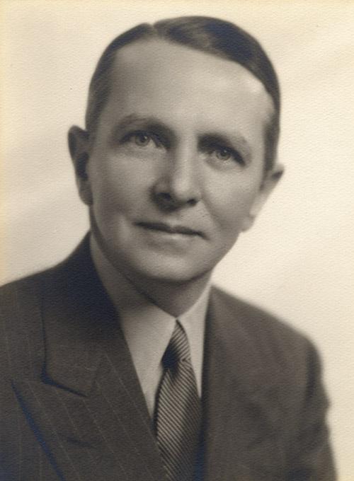 Portrait of J. R. Parten as IPAT president, 1931. J. R. Parten Papers. di_02488