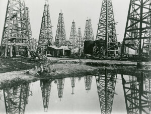 Oil Fields at Sour Lake, Texas, undated. East Texas Photograph Collection. di_08007