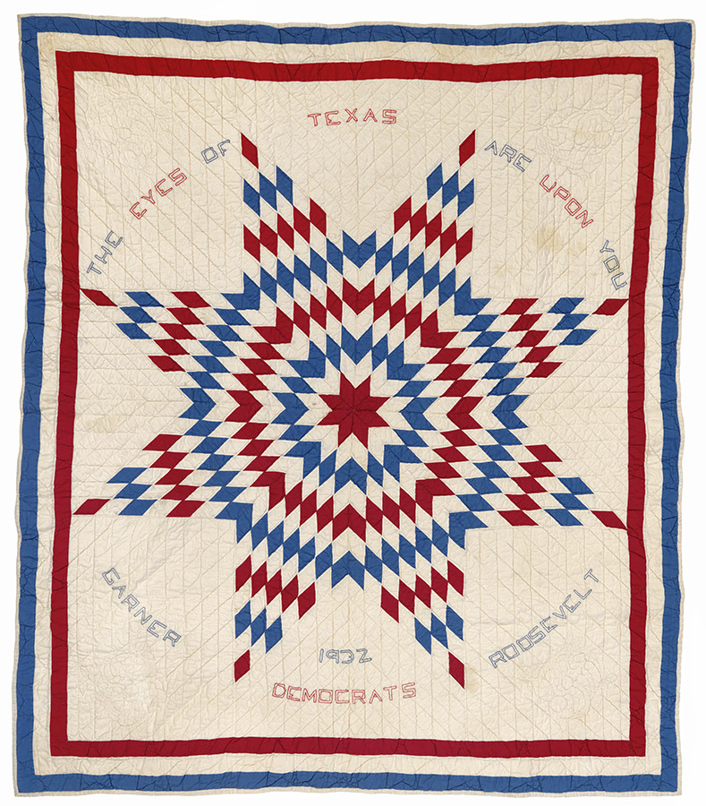 Texas Star, 1932. Briscoe-Garner Museum Quilt Collection. e_wqh_0468