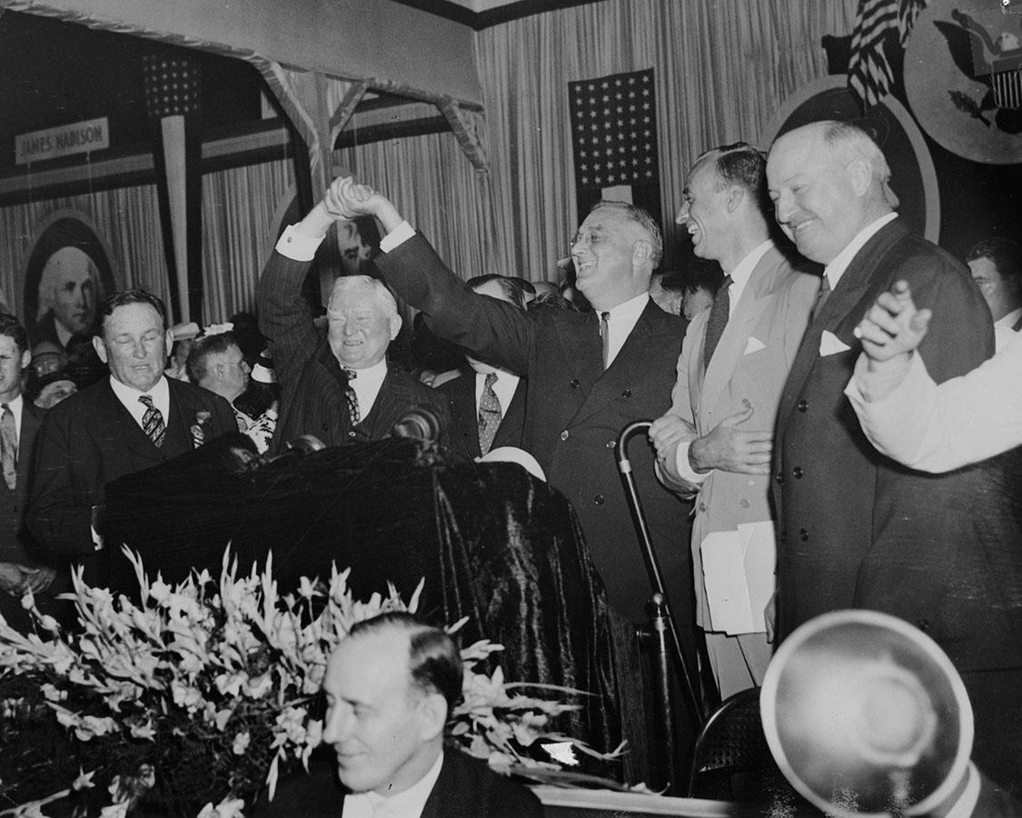 John Nance Garner and Franklin Roosevelt