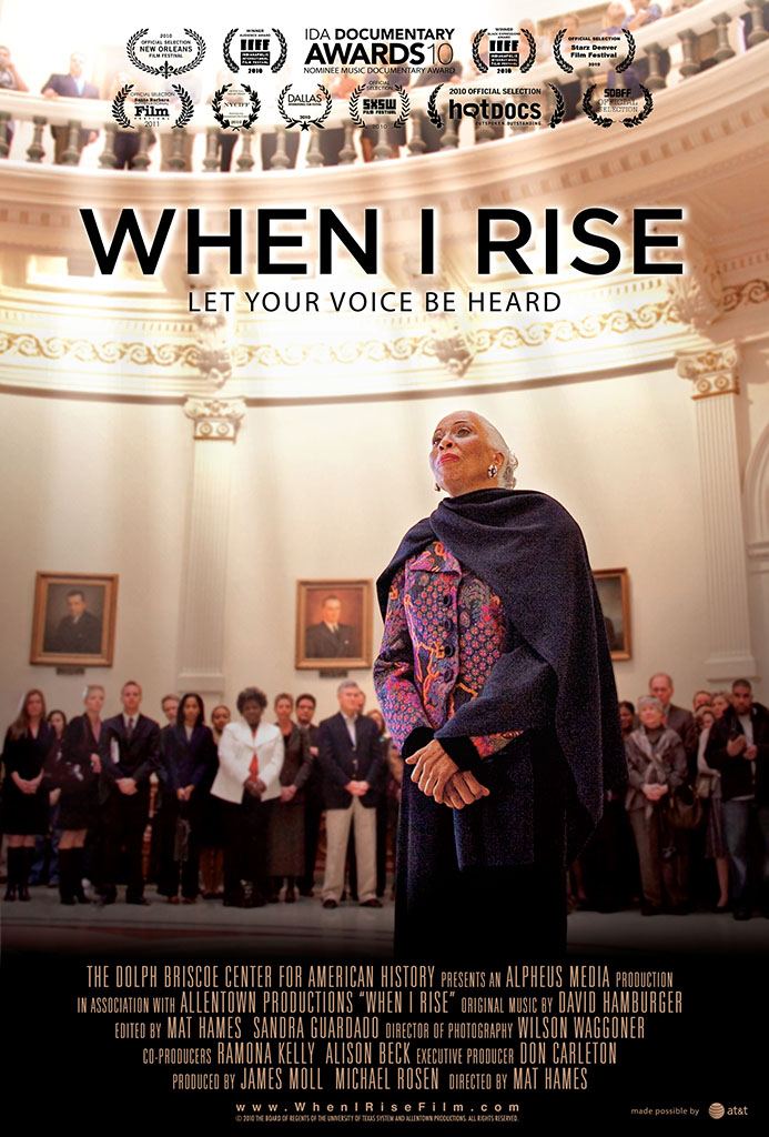 Promotional poster for When I Rise