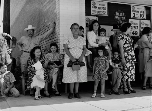 Stockdale Watermelon Festival, 1949. Russell Lee Photograph Collection. e_rl_0001